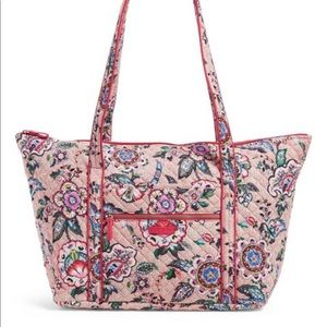Vera Bradley Miller Travel Bag in Stitched Flowers